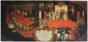 Illustration 37: The Coronation of Marina Mniszech in Moscow's Cathedral of the Dormition, 8 May 1606