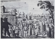 Illustration 45: The Baptism in the Bronnitsy, 1 Aug 1634