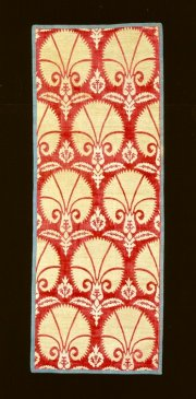Illustration 282: Turkish fabric with a fan design