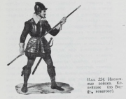 Illustration 224: Foreign Troops. Spearman