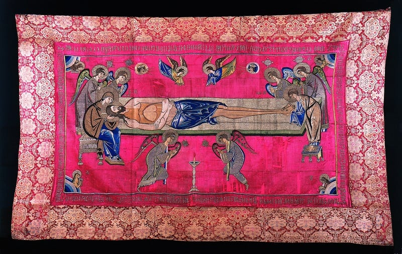 The Puchezh Epitaphios of 1441 and Novgorodian Embroidery in the Time of Archbishop Euphemius II