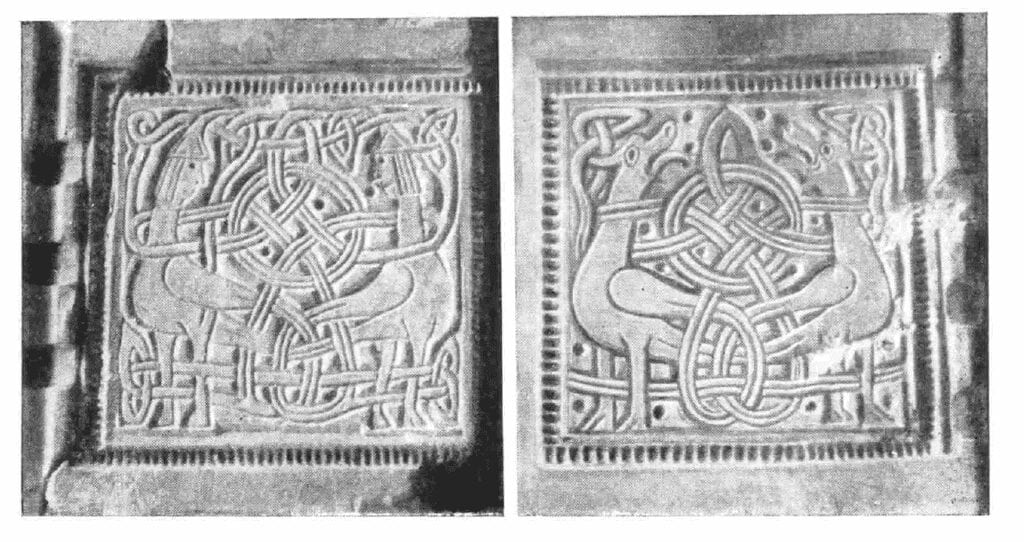 Photograph of a casting mold for a bracelet, found in Kiev.