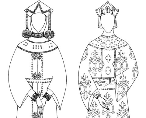 Medieval Russian Garb