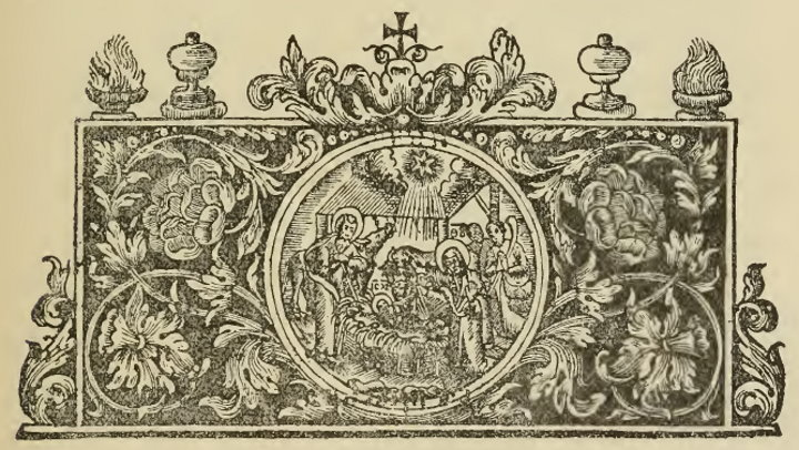 """Illustration 16: Old Printed Aneologion, Moscow, 1706. jeb: Note the """"seal"""" in the center."""